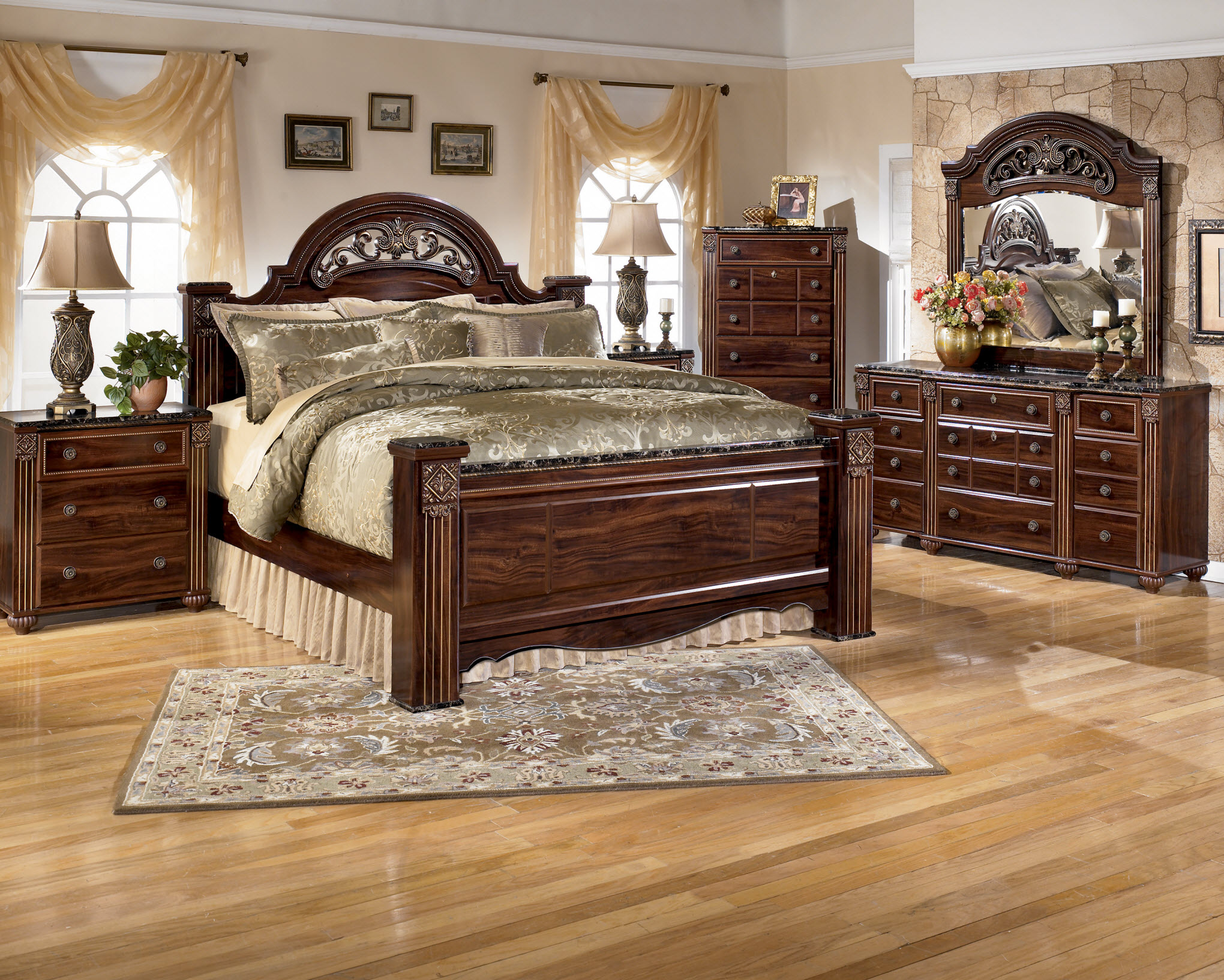 Ashley b347 bedroom set Ashley home furniture bedroom sets