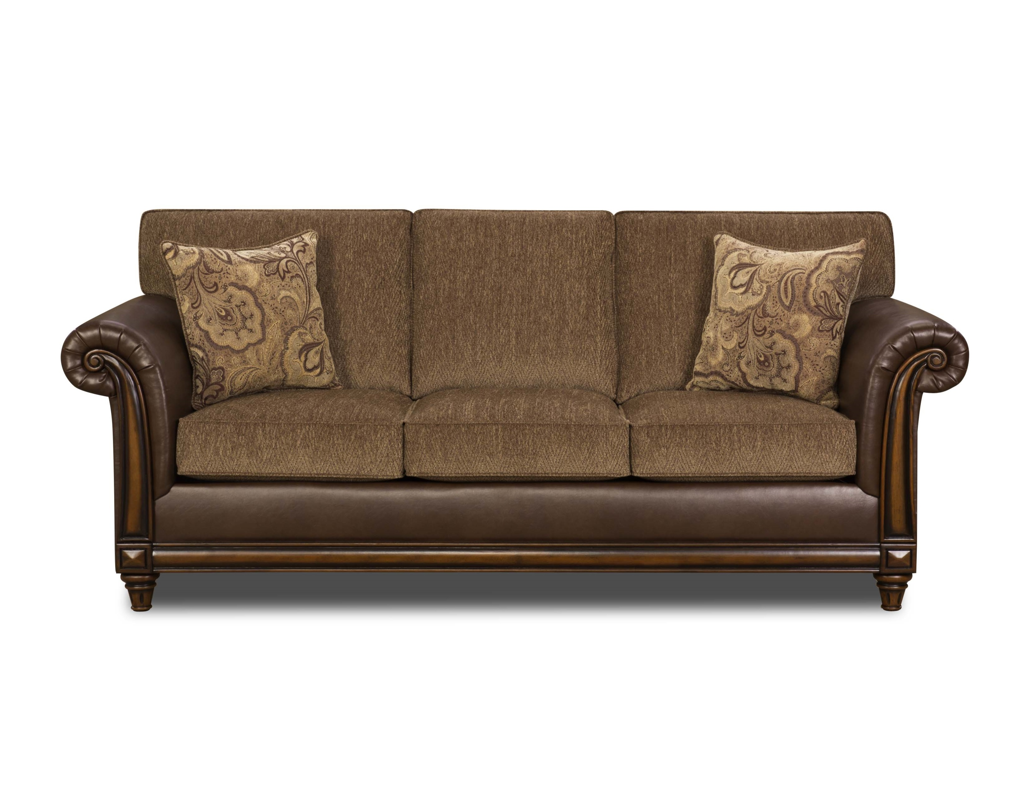 Simmons 8013 Sofa And Loveseat Set