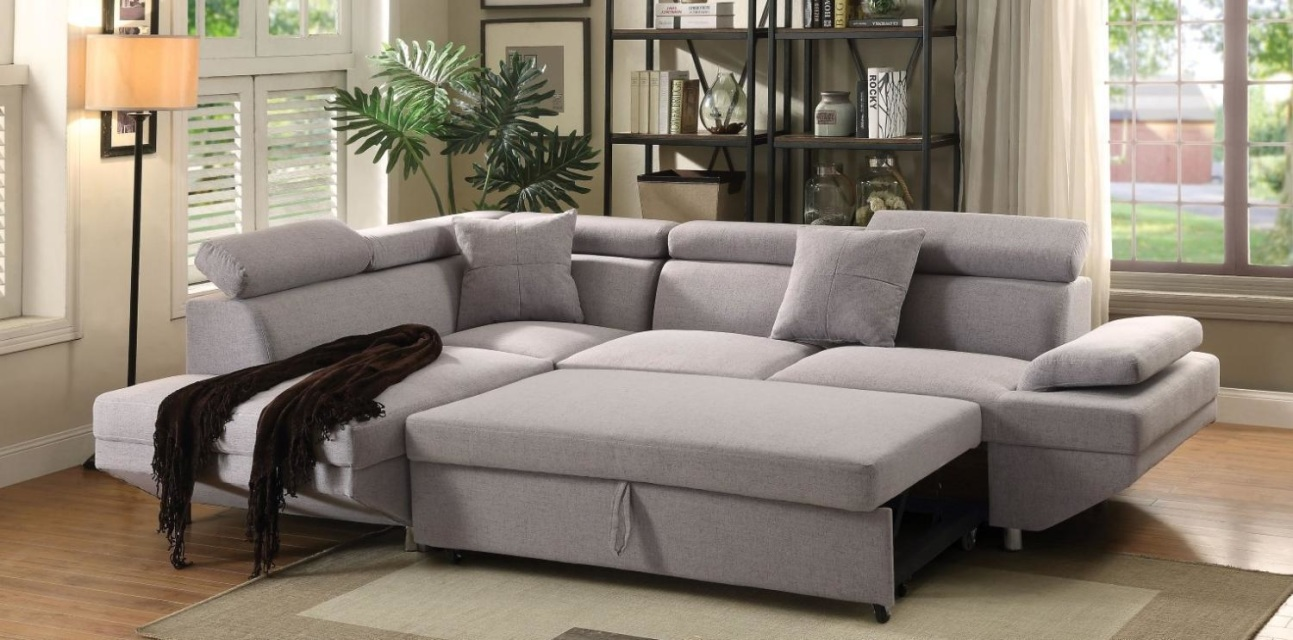 miami sleeper sectional