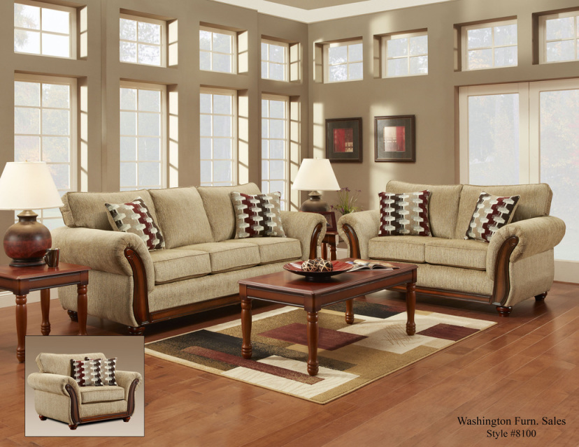 8103 Radar Havana Living Room Chair Available